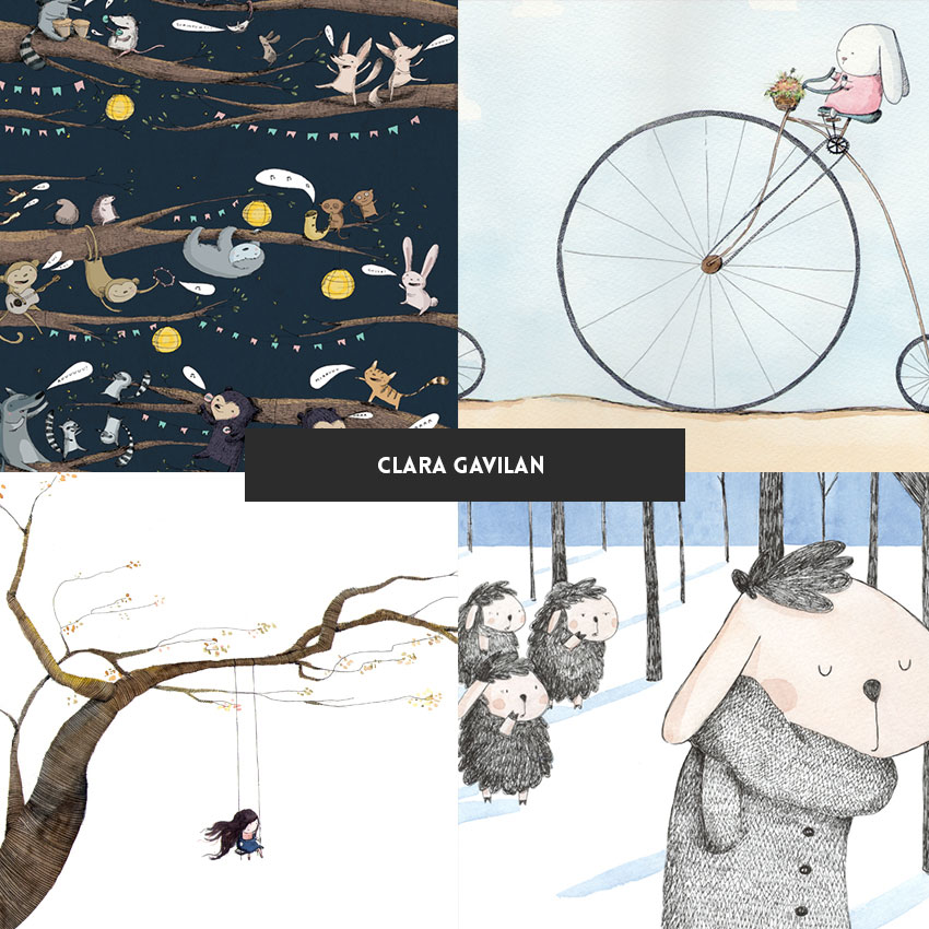 ilustradora-brasileira-clara-gavilan