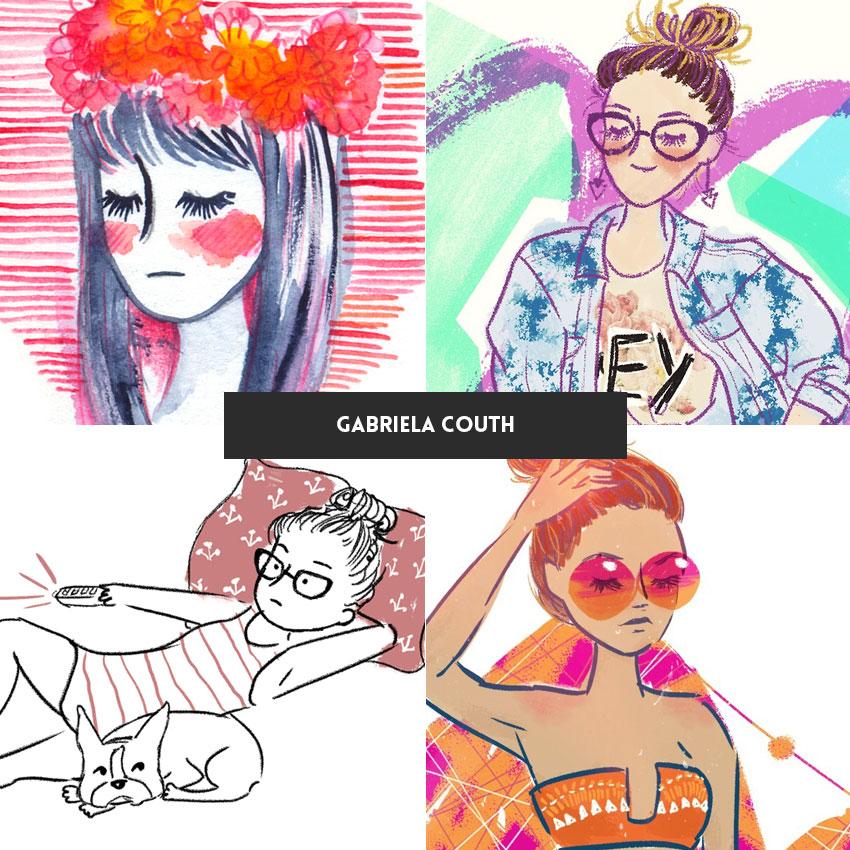 ilustradora-brasileira-gabriela-couth