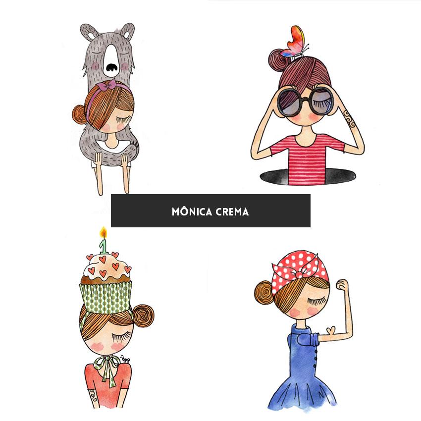 ilustradora-brasileira-monica-crema