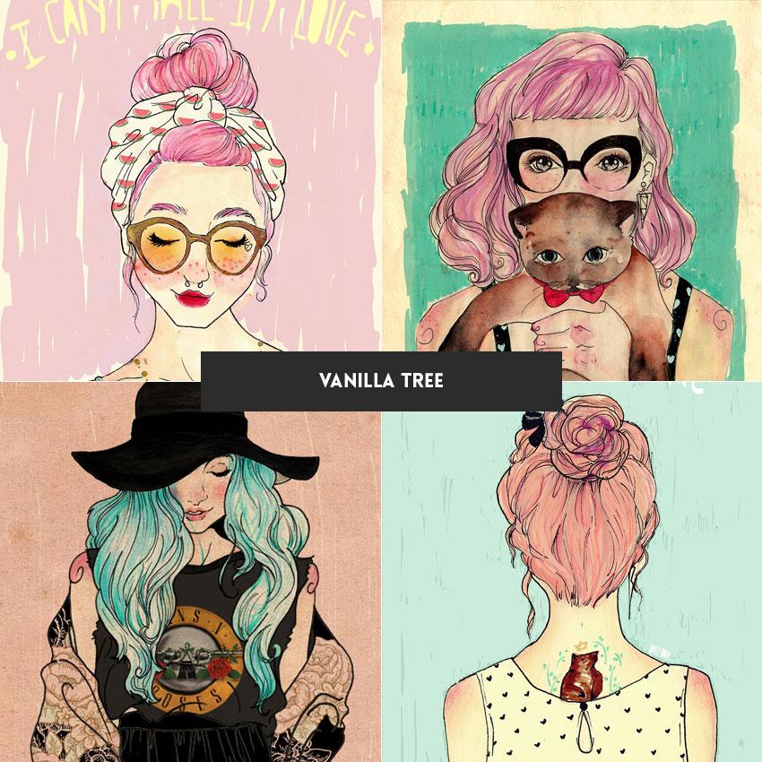 ilustradora-brasileira-vanilla-tree