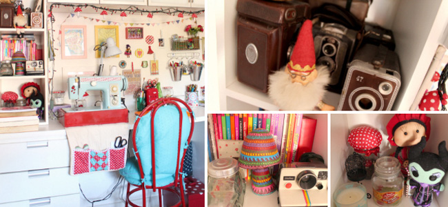 Decoração do quarto e home-office da Dona das Coisinhas