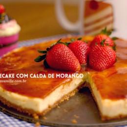 Cheesecake de aniversário