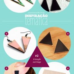 Triangle Earrings: um mix de obsessão e inspiração temática