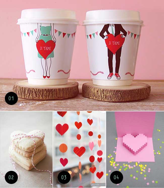 Ideias bonitinhas para o Valentine's Day
