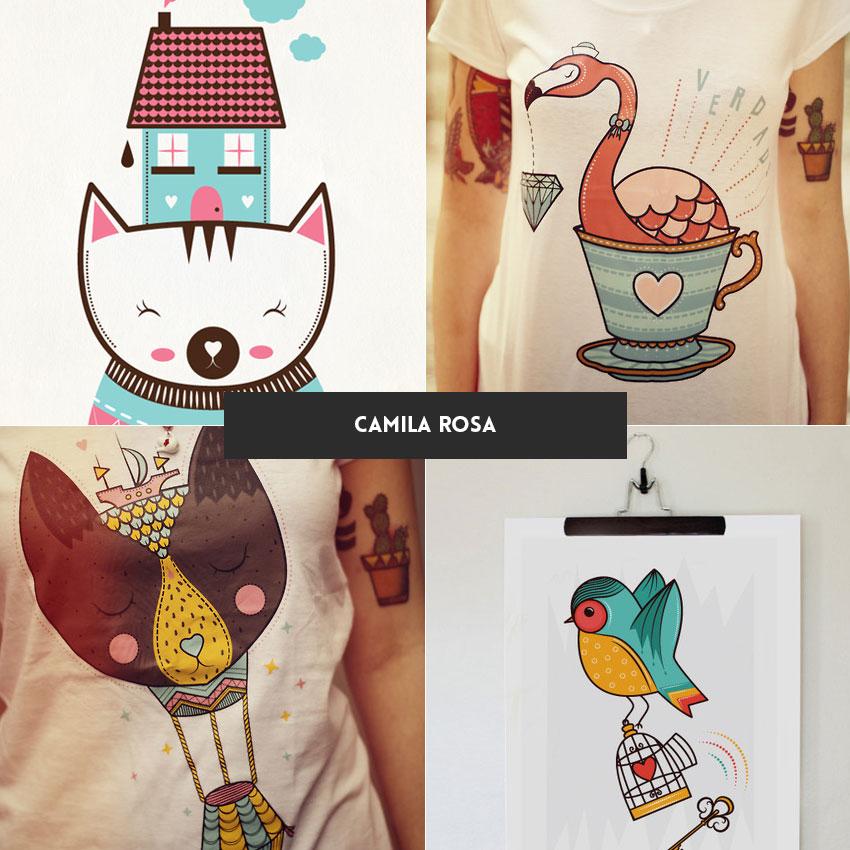 ilustradora-brasileira-camila-rosa