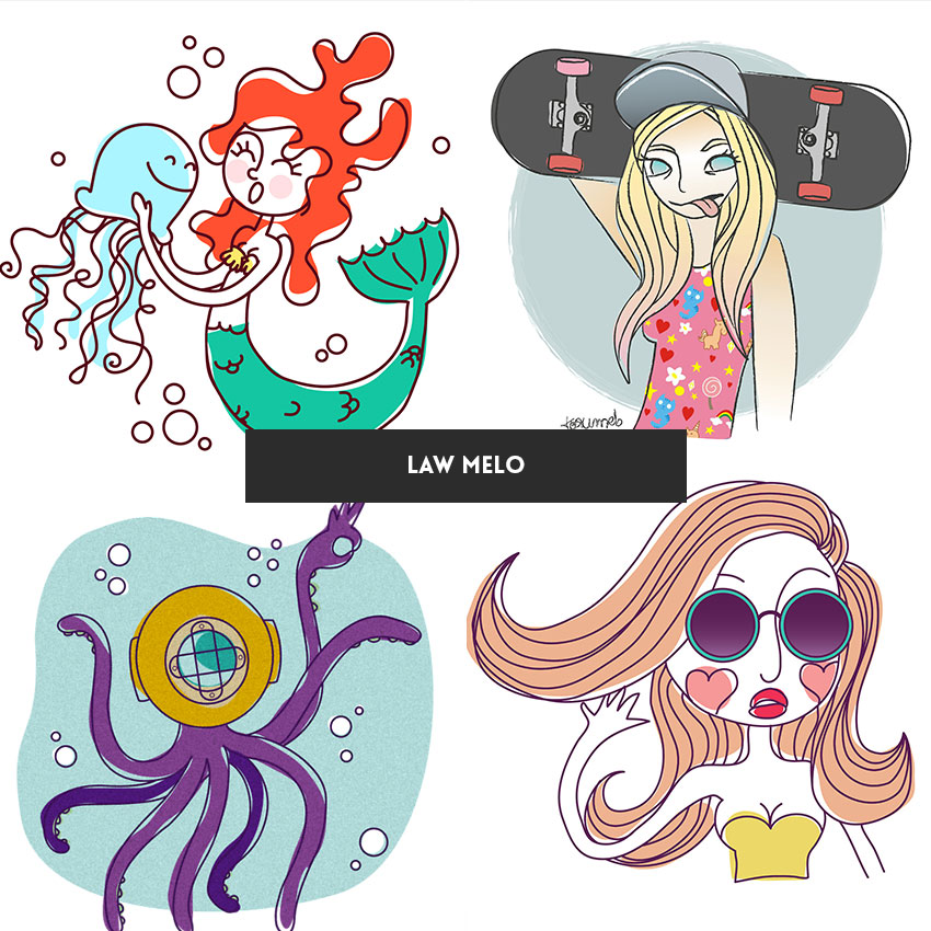 ilustradora-brasileira-law--melo