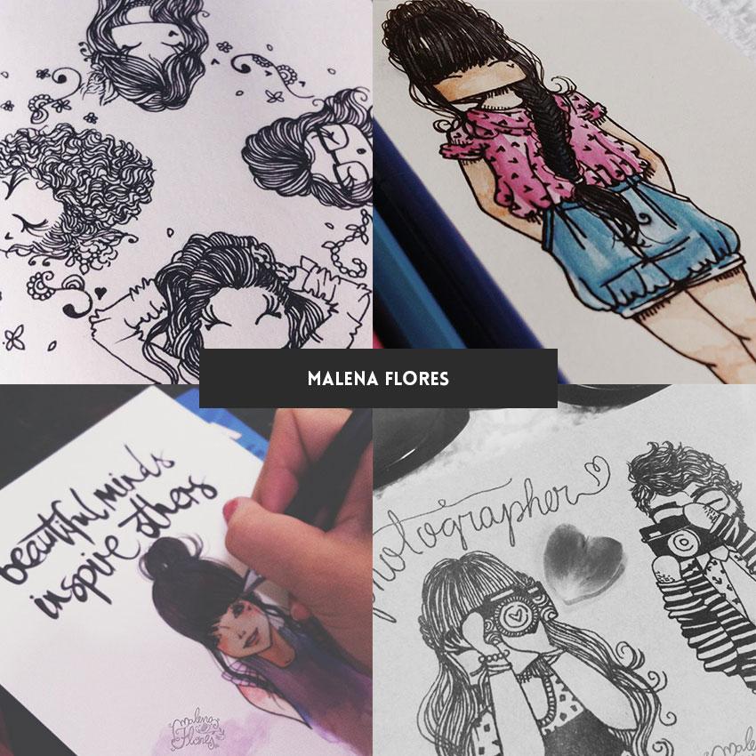 ilustradora-brasileira-malena-flores