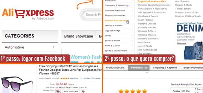 O blog Tem no meu quintal explica como comprar no site Ali Express (o eBay chinês)
