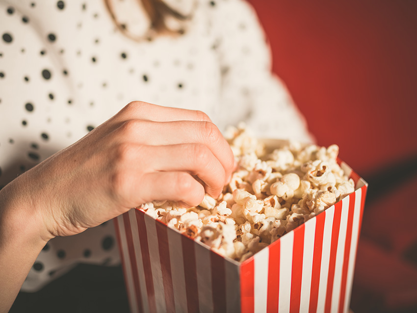 Popcorn via Shutterstock