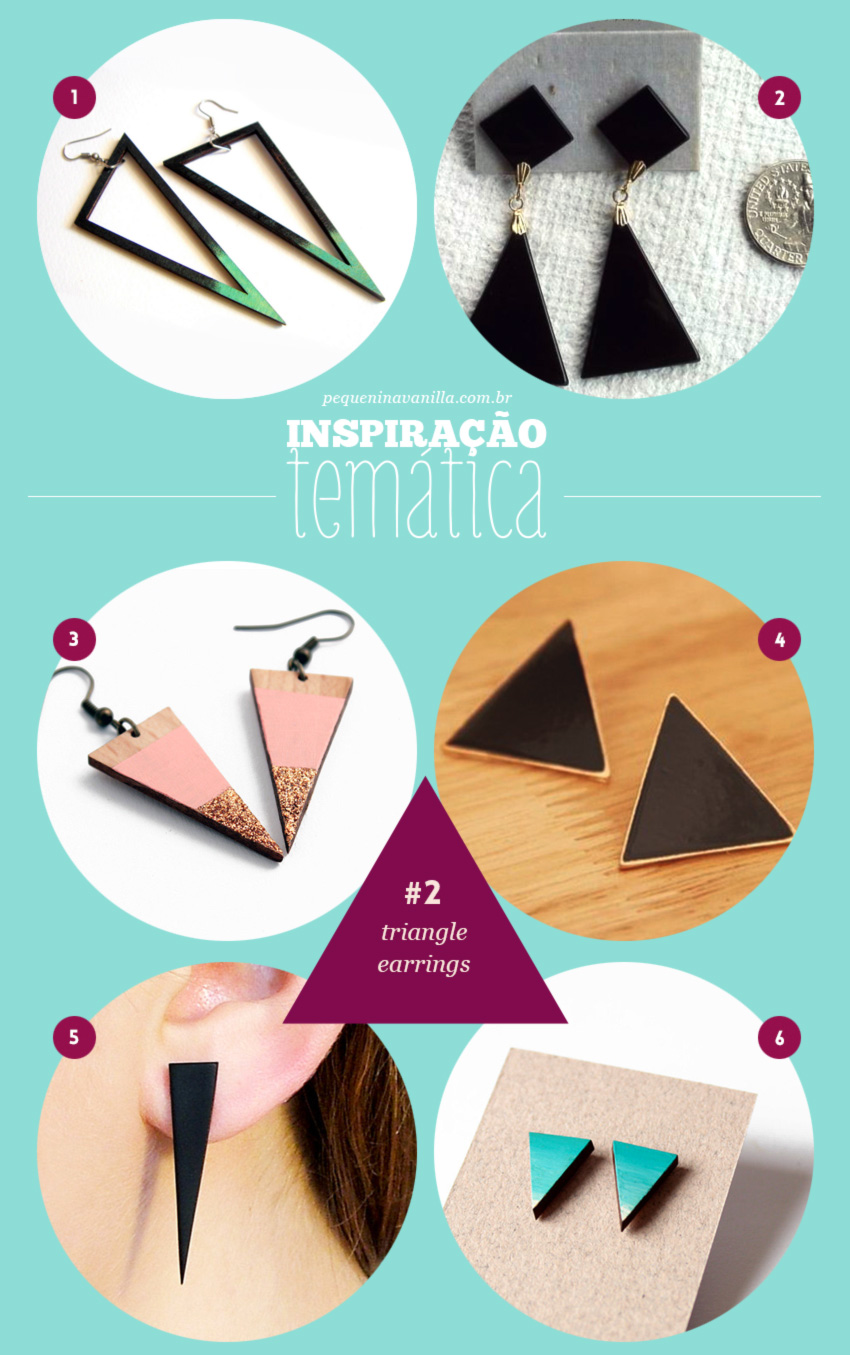 triangle-earrings